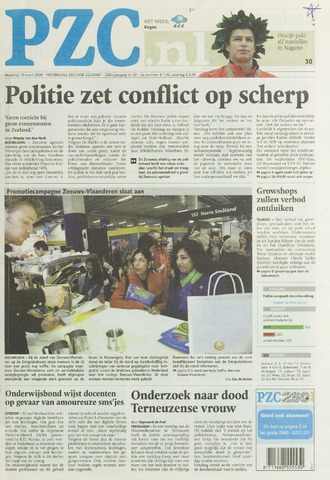 Provinciale Zeeuwse Courant 2008-03-10