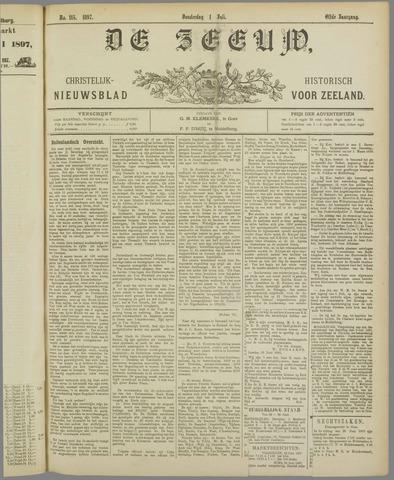 De Zeeuw. Christelijk-historisch nieuwsblad voor Zeeland 1897-07-01