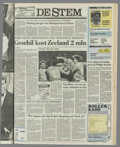 de Stem 1990-11-22