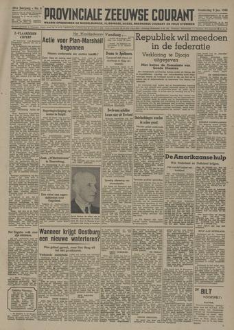 Provinciale Zeeuwse Courant 1948-01-08
