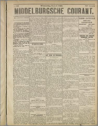 Middelburgsche Courant 1922-07-05