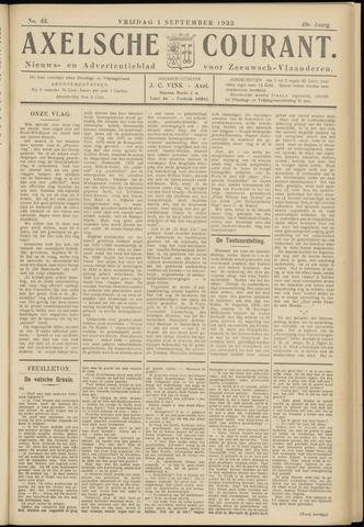 Axelsche Courant 1933-09-01