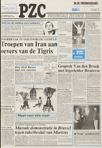 Provinciale Zeeuwse Courant 1985-03-18