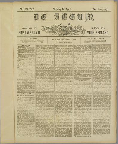 De Zeeuw. Christelijk-historisch nieuwsblad voor Zeeland 1901-04-12