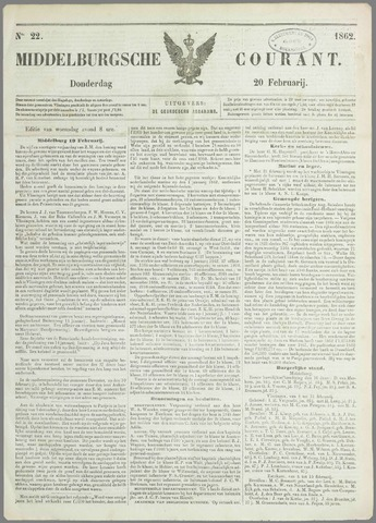 Middelburgsche Courant 1862-02-20