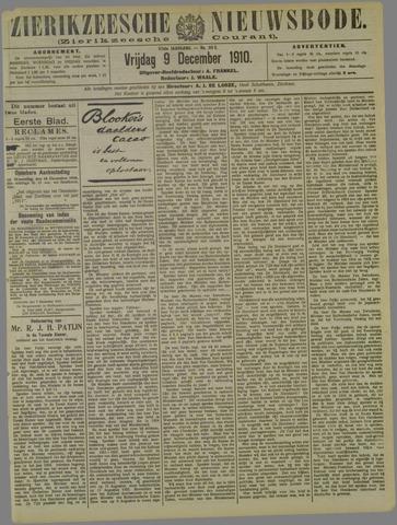 Zierikzeesche Nieuwsbode 1910-12-09