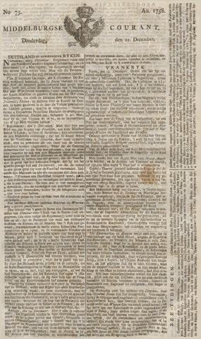 Middelburgsche Courant 1758-12-21