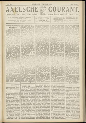 Axelsche Courant 1939-10-03