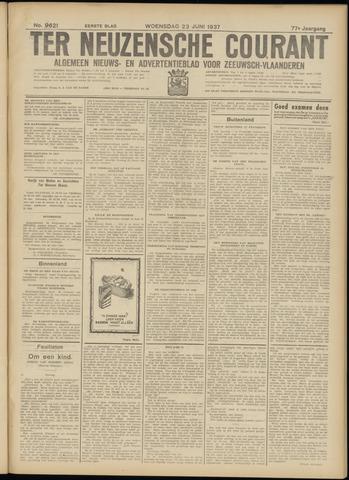 Ter Neuzensche Courant. Algemeen Nieuws- en Advertentieblad voor Zeeuwsch-Vlaanderen / Neuzensche Courant ... (idem) / (Algemeen) nieuws en advertentieblad voor Zeeuwsch-Vlaanderen 1937-06-23