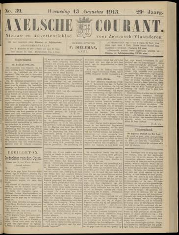 Axelsche Courant 1913-08-13