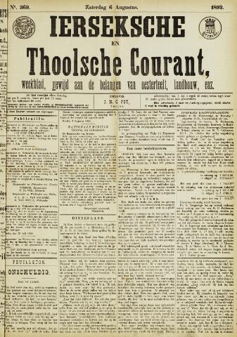Ierseksche en Thoolsche Courant 1892-08-06