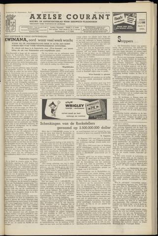 Axelsche Courant 1955-08-20