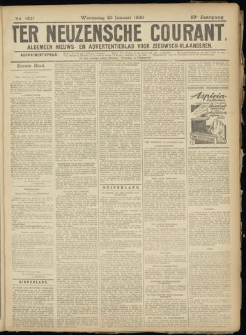 Ter Neuzensche Courant. Algemeen Nieuws- en Advertentieblad voor Zeeuwsch-Vlaanderen / Neuzensche Courant ... (idem) / (Algemeen) nieuws en advertentieblad voor Zeeuwsch-Vlaanderen 1929-01-23