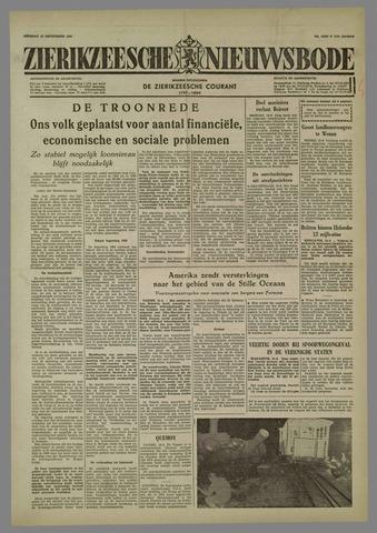 Zierikzeesche Nieuwsbode 1958-09-16
