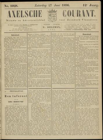 Axelsche Courant 1896-06-27