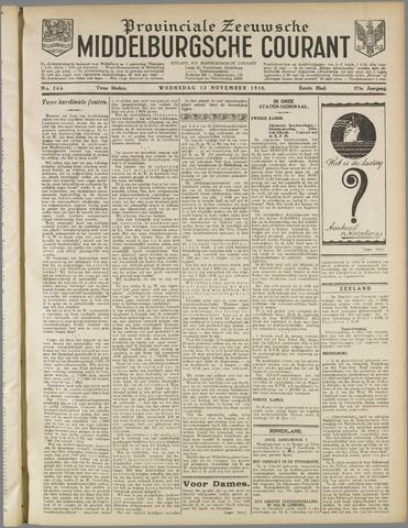 Middelburgsche Courant 1930-11-12