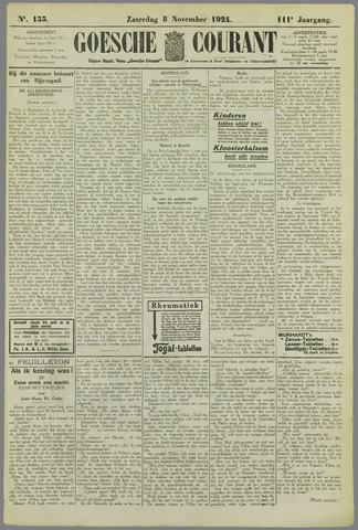 Goessche Courant 1924-11-08