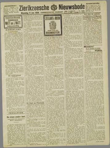 Zierikzeesche Nieuwsbode 1926-01-11