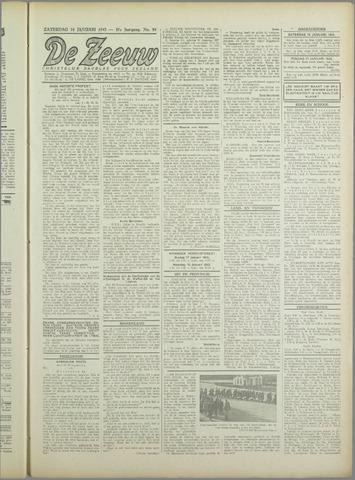 De Zeeuw. Christelijk-historisch nieuwsblad voor Zeeland 1943-01-16