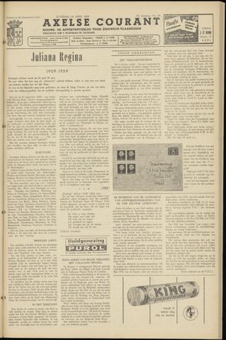 Axelsche Courant 1959-04-18