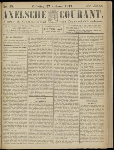 Axelsche Courant 1917-10-27