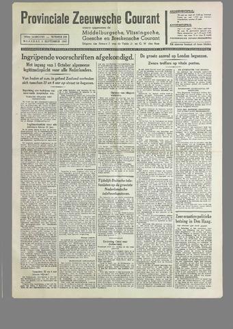 Provinciale Zeeuwse Courant 1940-09-09
