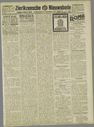 Zierikzeesche Nieuwsbode 1926-03-19