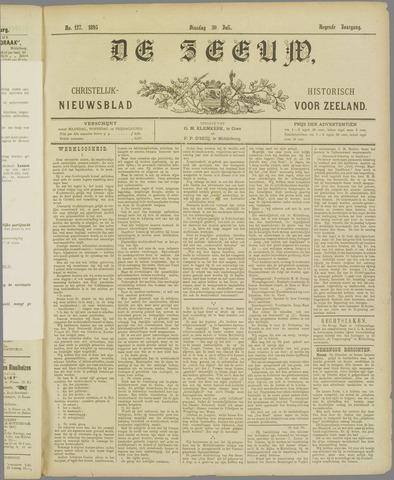 De Zeeuw. Christelijk-historisch nieuwsblad voor Zeeland 1895-07-30