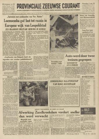 Provinciale Zeeuwse Courant 1960-08-17