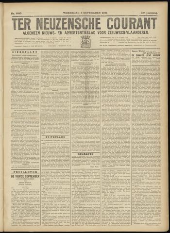 Ter Neuzensche Courant. Algemeen Nieuws- en Advertentieblad voor Zeeuwsch-Vlaanderen / Neuzensche Courant ... (idem) / (Algemeen) nieuws en advertentieblad voor Zeeuwsch-Vlaanderen 1932-09-07