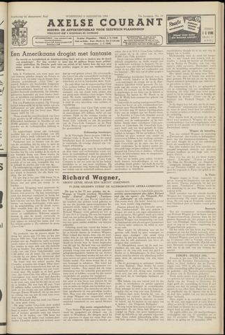 Axelsche Courant 1958-08-06