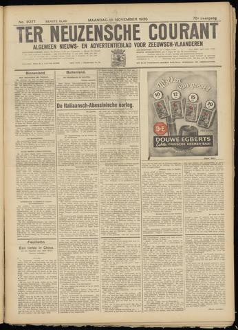 Ter Neuzensche Courant. Algemeen Nieuws- en Advertentieblad voor Zeeuwsch-Vlaanderen / Neuzensche Courant ... (idem) / (Algemeen) nieuws en advertentieblad voor Zeeuwsch-Vlaanderen 1935-11-18