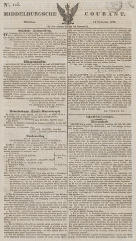 Middelburgsche Courant 1834-10-14