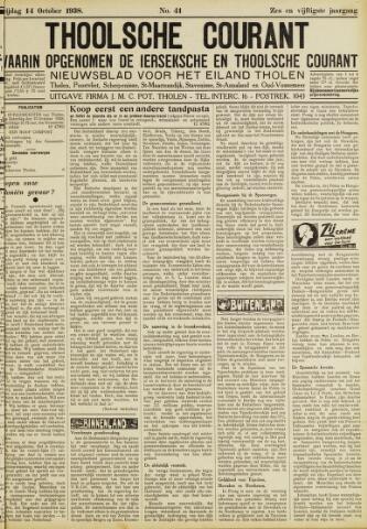 Ierseksche en Thoolsche Courant 1938-10-14