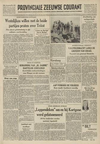 Provinciale Zeeuwse Courant 1953-10-22