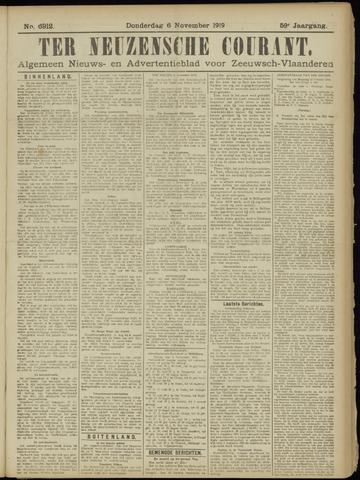 Ter Neuzensche Courant. Algemeen Nieuws- en Advertentieblad voor Zeeuwsch-Vlaanderen / Neuzensche Courant ... (idem) / (Algemeen) nieuws en advertentieblad voor Zeeuwsch-Vlaanderen 1919-11-06