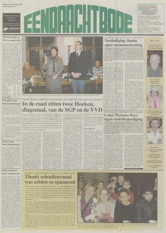 Eendrachtbode (1945-heden)/Mededeelingenblad voor het eiland Tholen (1944/45) 2004-02-05