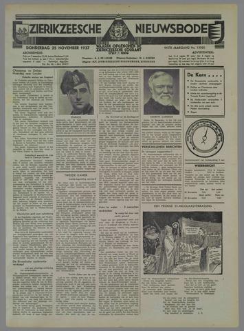 Zierikzeesche Nieuwsbode 1937-11-25