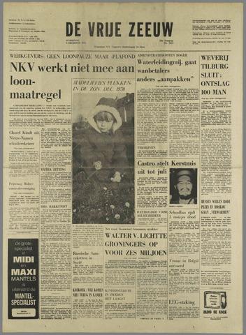 de Vrije Zeeuw 1970-12-09