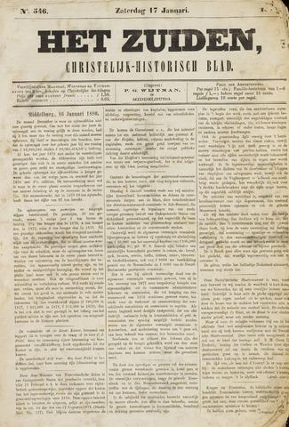 Het Zuiden, Christelijk-historisch blad 1880-01-17
