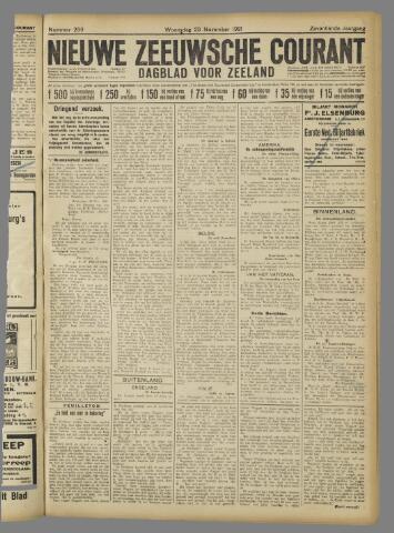 Nieuwe Zeeuwsche Courant 1921-11-23