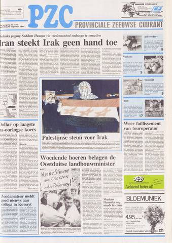 Provinciale Zeeuwse Courant 1990-08-16