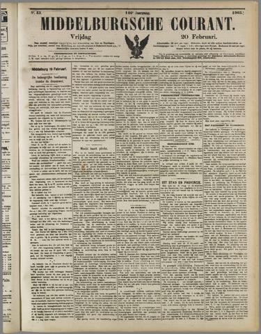 Middelburgsche Courant 1903-02-20