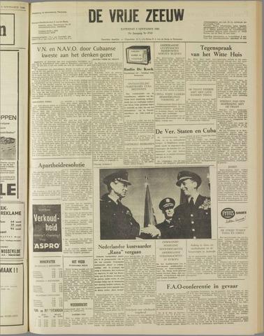 de Vrije Zeeuw 1962-11-03