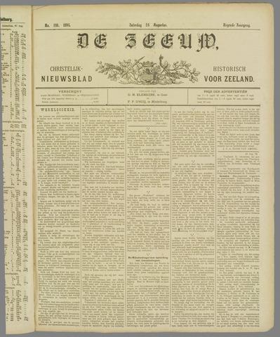 De Zeeuw. Christelijk-historisch nieuwsblad voor Zeeland 1895-08-24