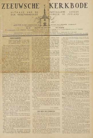 Zeeuwsche kerkbode, weekblad gewijd aan de belangen der gereformeerde kerken/ Zeeuwsch kerkblad 1946-06-28