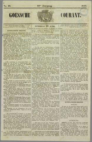 Goessche Courant 1857-06-25