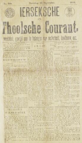 Ierseksche en Thoolsche Courant 1889-09-14