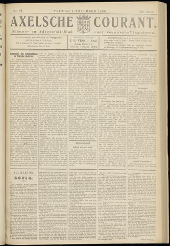 Axelsche Courant 1930-11-07