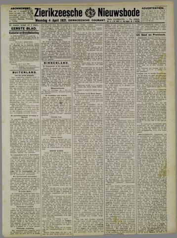 Zierikzeesche Nieuwsbode 1921-04-04